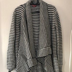 Merona Striped Waterfall Cardigan